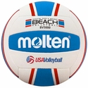 Molten BV5000 Red-White-Blue Adult Beach Volleyball