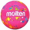 Molten Hot Pink & Paint Splatter Mini Volleyball