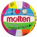 "Molten White & Neon ""I Love Volleyball"" Mini Volleyball"