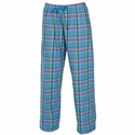 Moonlight Blue Flannel Tie-Cord Pants - Choice of 22 Sport Imprints on Leg or Rear