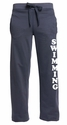 Navy Ladies Fleece Sport Pants - Choice of 22 Sports on Leg or Rear