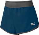 Mizuno Navy Blue & Grey Women's Cover Up Short