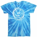 Neon Blueberry Tie-Dye Volleyball Tee - in 6 Designs