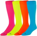 Neon Knee-High KraziSox - in 5 Bright Sock Colors