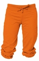 Orange Capri Pants - Choice of 22 Sport Imprints - Rear or Leg