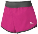 Mizuno Hot Pink & Grey Women's Cover Up Short