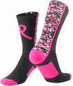 Pink Ribbon Digital Camo Aware Performance Crew Socks