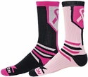 Pink Ribbon Fighter Crew Socks - in 2 Colors