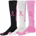 Pink Ribbon Pegasus Knee High Socks - 3 Color Options
