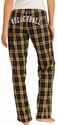 Plaid Flannel Lounge Pants - Choice of 22 Sport Imprints on Rear - in 30 COLORS