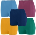 "Poly / Spandex 2.5"" Sport Shorts - in 11 Team Colors"