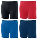 "Poly / Spandex 4"" Sport Shorts - in 4 Team Colors"