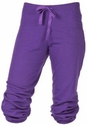 Purple Capri Pants - Choice of 22 Sport Imprints - Rear or Leg