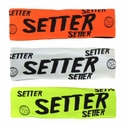 Setter Neon Spandex Headband w/ Black Lettering - in 5 Colors