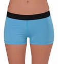 Soffe-Dri Bonnie Blue / Black  Junior's Compression Shorts