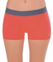 Soffe-Dri Cayenne Orange / Gunmetal Junior's Compression Shorts