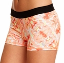 Soffe Dri Coral Summer Obsession Spandex Shorts
