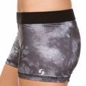 Soffe Dri Grey Smoke Spandex Shorts