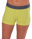 Soffe-Dri Kool Kiwi / Gunmetal Junior's Compression Shorts