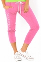 Pink Soffe Pocket Capri Pants - Choice of 16 Sport Script Imprints - Rear or Leg