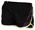 Soffe Black, Lime, & Dots Make Some Noise Running Shorts