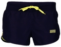 Soffe's Black & Limeade Modern Team Running Shorts
