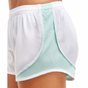 Soffe White & Beach Glass Track Shorts