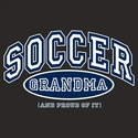 Sport Grandma, Proud Of It Design T-Shirt - in 4 Sports and 27 Shirt Colors
