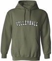 Team Sport Printed Hooded Sweatshirt - in 22 Sports and 20 Hoodie Colors