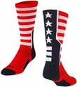 Stars & Stripes USA Crew Socks
