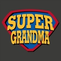 Super Grandma Long Sleeve Shirt - in 18 Shirt Colors