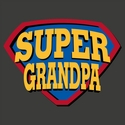Super Grandpa T-Shirt - in 27 Shirt Colors