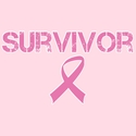 Survivor Pink Ribbon Cancer Awareness T-Shirt - in 27 Shirt Colors