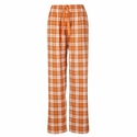 Texas Orange Flannel Tie-Cord Pants - Choice of 22 Sport Imprints on Leg or Rear
