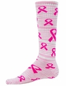 Cosmic Think Pink Ribbon Knee High Socks