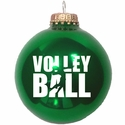 Volley Ball & Player Tree Ornament