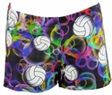 Volleyball Bubbles Spandex Shorts