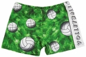 Volleyball Green Wild Gypsy Spandex Shorts