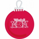Volleyball Mom Tree Ornament - in 3 Colors