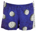 Volleyball Rainbow Wild Gypsy Spandex Shorts