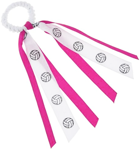 Volleyball Ribbon Hair Scrunchie
