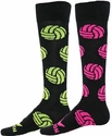 Volleyball Spike Neon Logo Knee High Socks � In 2 Colors
