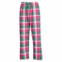 Watermelon Twist Flannel Tie-Cord Pants - Choice of 22 Sport Imprints on Leg or Rear