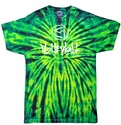 Wild Spider Tie-Dye T-shirt - in 6 Volleyball Designs