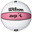 Wilson AVP Pink Replica Game Ball