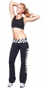 Zebra Waist Yoga Pants - Choice of 22 Sport Imprints on Leg or Rear