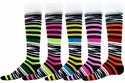 Zoo Knee High Socks - in 5 Colors
