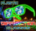 Diffraction Glasses - Plastic