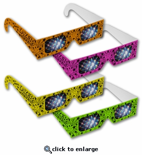 Fireworks Glasses�  Neon Lazer Viewers -  Great for Fireworks and Lazer Shows