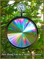 "Sun Catcher - Axicon Rainbow Window Suncatcher - Includes a Bonus ""Rainbow on Board"" Suncatcher...Free!"